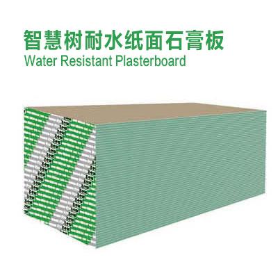 智慧树耐水纸面石膏板